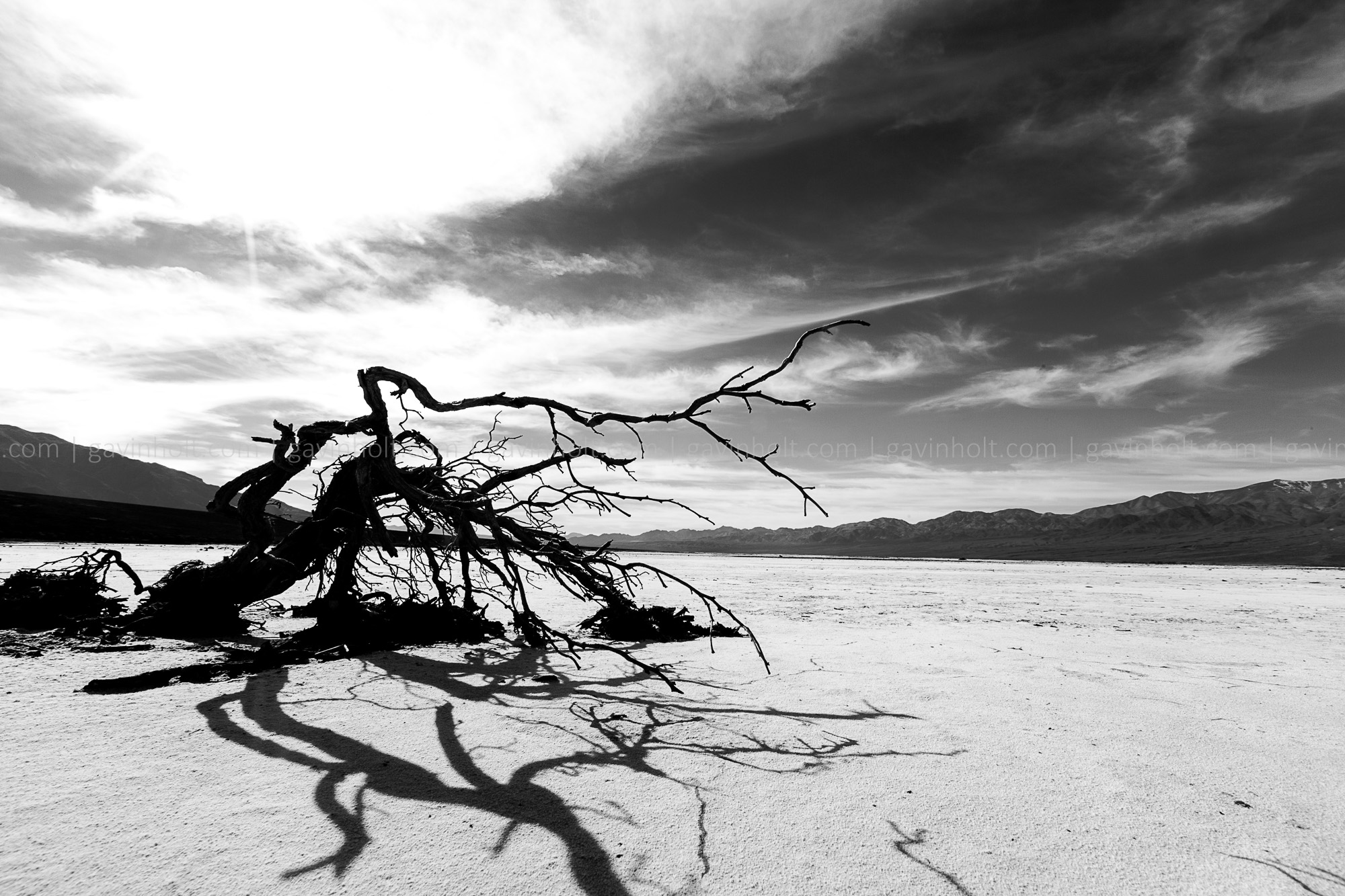 Death Valley in B&W