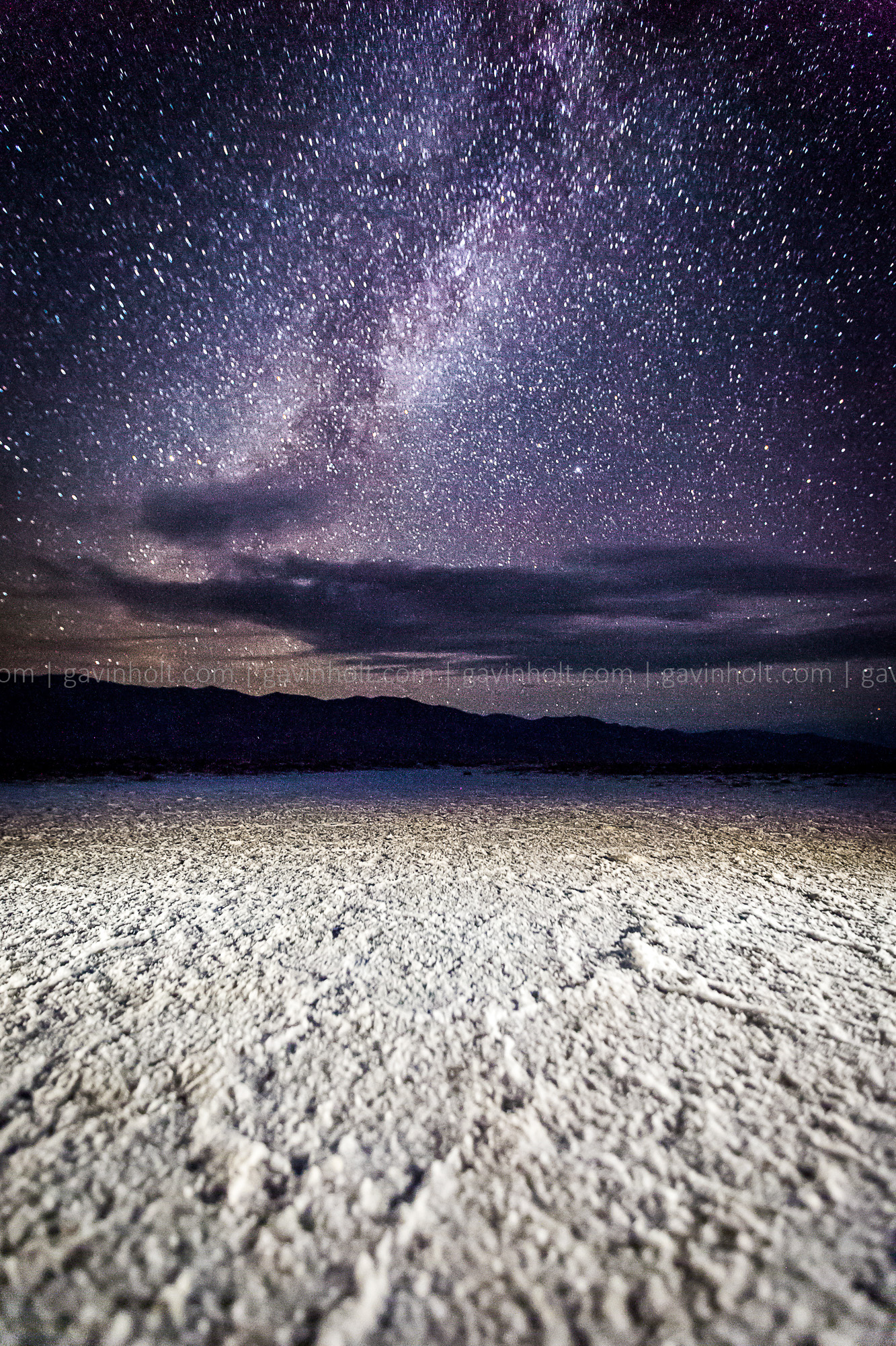 Astro-photography in Death Valley